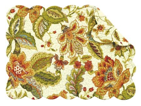 Amelia Rectangular Quilted Placemat