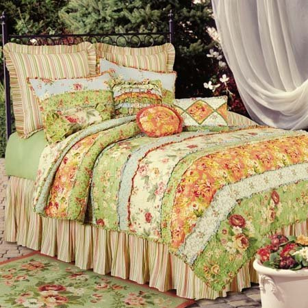 Garden Dream Twin Quilt