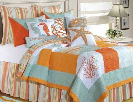 Fiesta Key Full Queen Quilt
