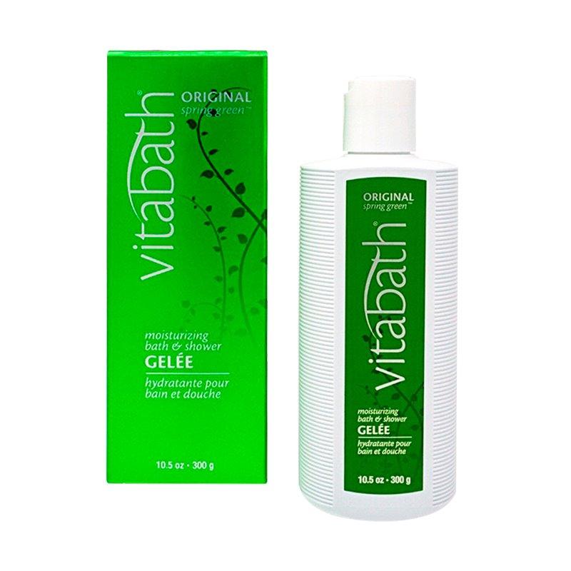Vitabath Original Spring Green Moisturizing Bath & Shower Gelee (10.5 oz)