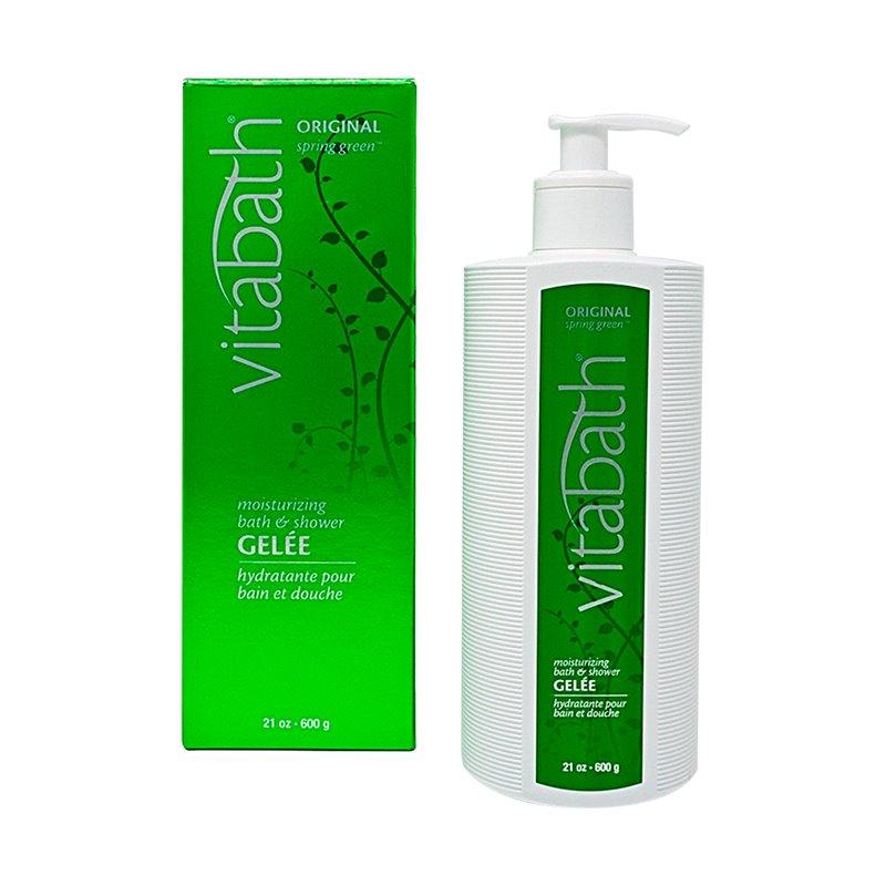 Vitabath Original Spring Green Moisturizing Bath & Shower Gel (21 oz)