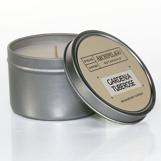 Archipelago Gardenia Tuberose Tin Candle