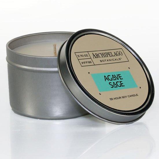 Archipelago Agave Sage Tin Candle