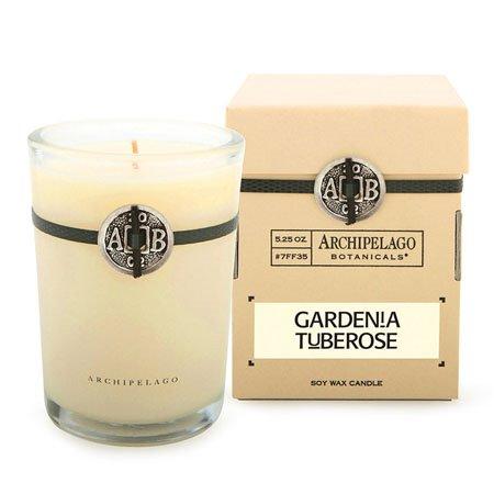 Archipelago Gardenia Tuberose Soy Boxed Candle