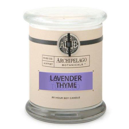 Archipelago Lavender Thyme Jar Candle