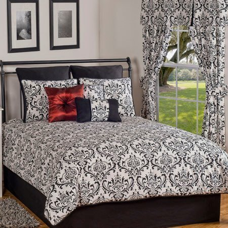 Astor California King size 4 piece Comforter Set