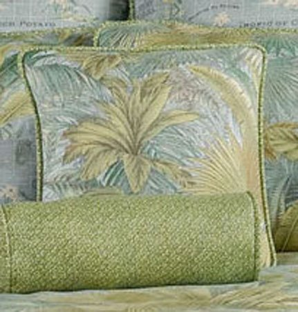 Bahamian Surf Square Accent Pillow