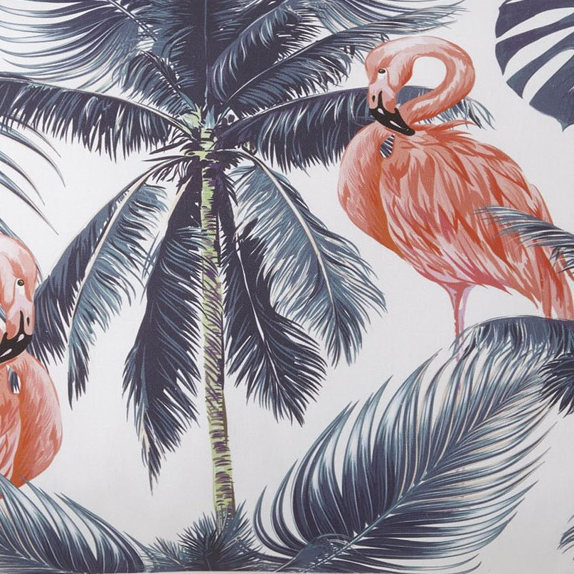 Flamingo Palms FLAMINGO Fabric Per Yard