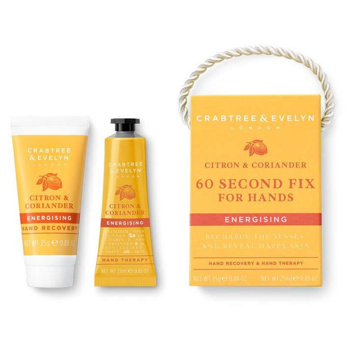 Crabtree & Evelyn Citron & Coriander 60-Second Fix for Hands-Mini