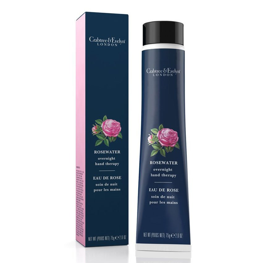 Crabtree & Evelyn Rosewater & Pink Peppercorn Overnight Hand Therapy
