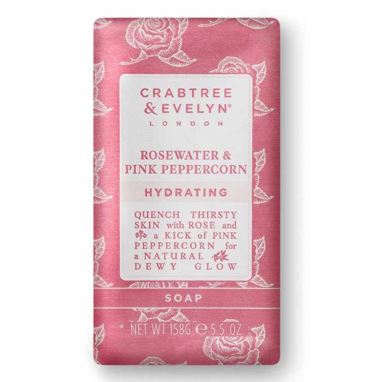 Crabtree & Evelyn Rosewater & Pink Peppercorn Triple Milled Soap