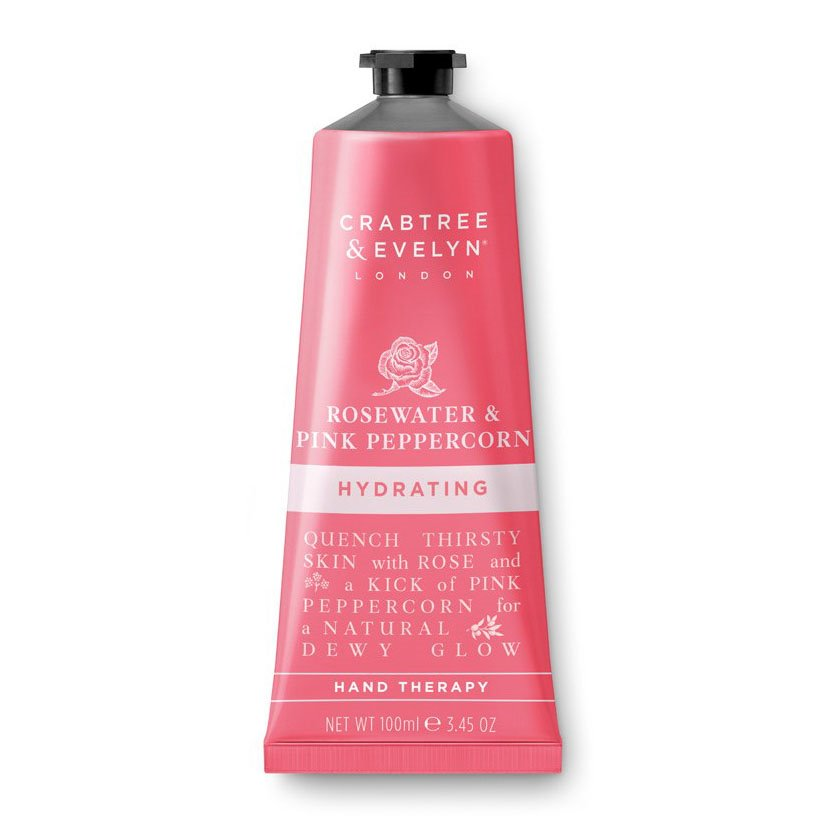Crabtree & Evelyn Rosewater & Pink Peppercorn Hand Therapy (100g)