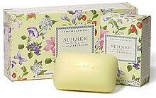 Crabtree & Evelyn Summer Hill Scented Bath Soaps (3 bars x 100g)