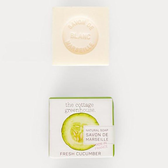 The Cottage Greenhouse Fresh Cucumber French Soap