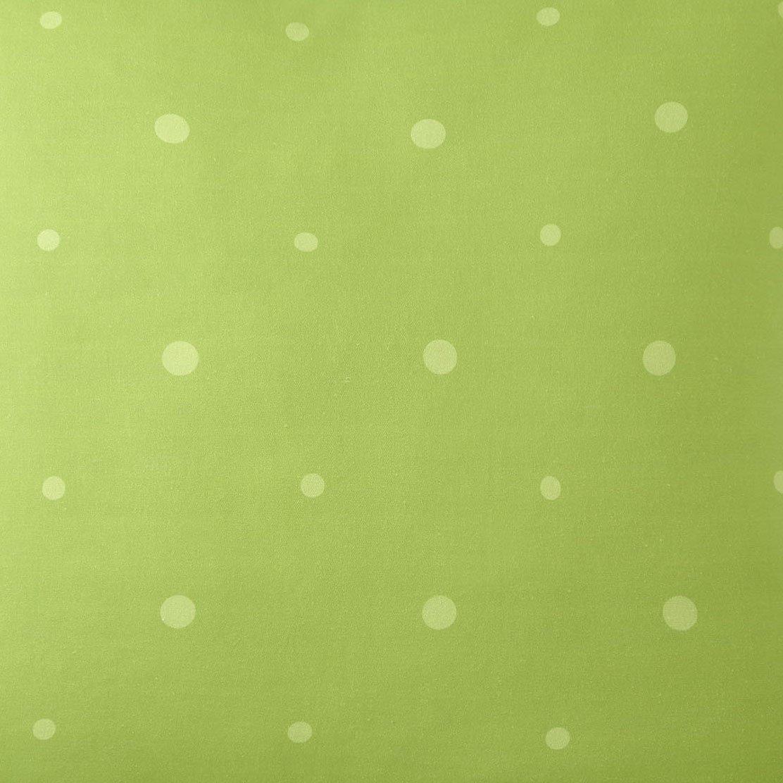 Poppy Plaid Green Polka Dot Fabric Per Yard