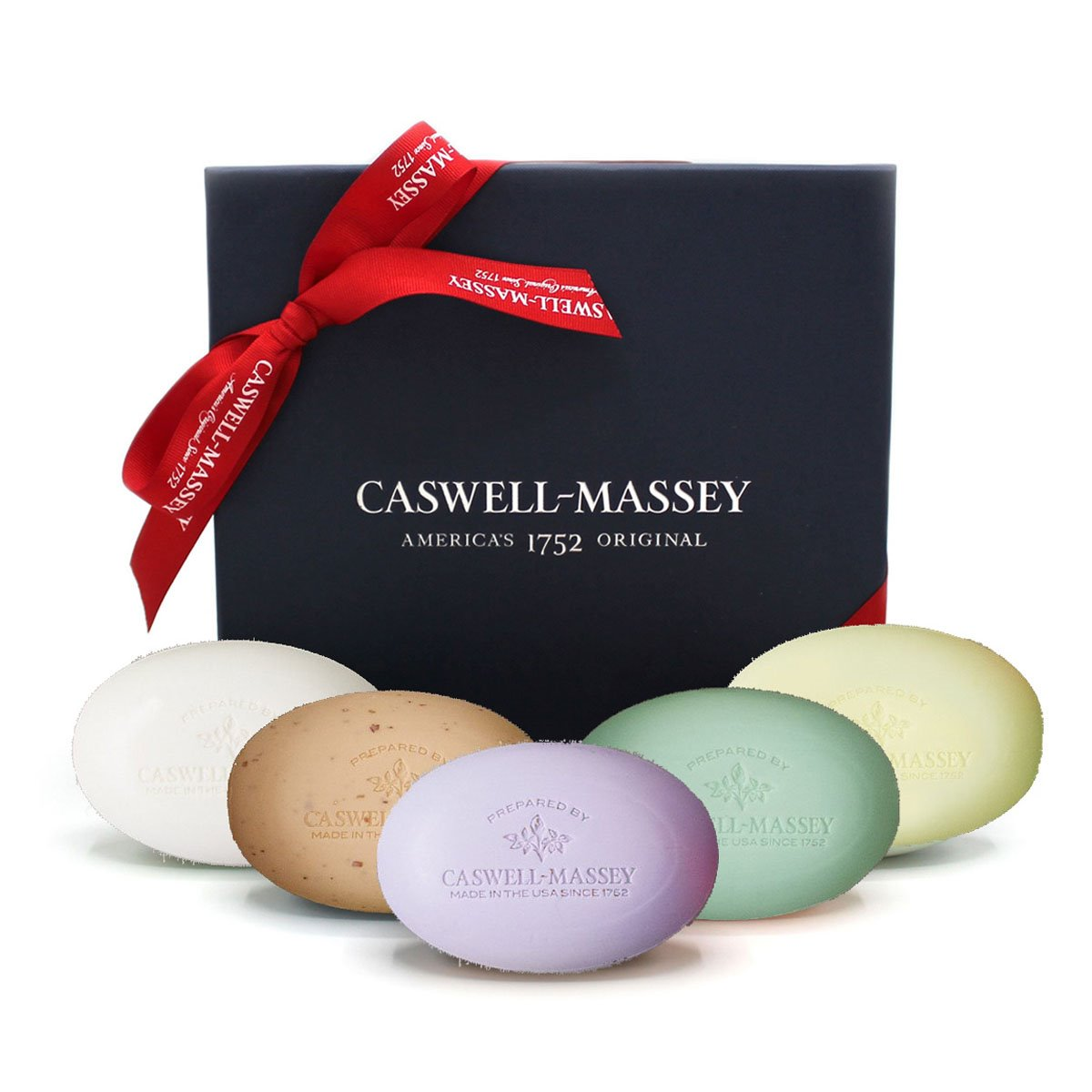 Caswell-Massey Favorite Scents 5 Piece Large Bar Soap Collection