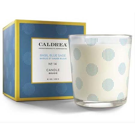 Caldrea Basil Blue Sage Candle