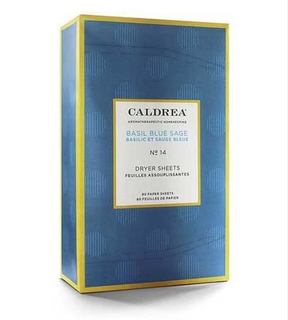 Caldrea Basil Blue Sage Dryer Sheets