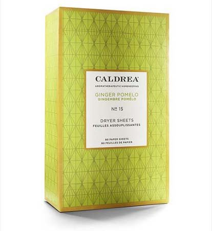 Caldrea Ginger Pomelo Dryer Sheets