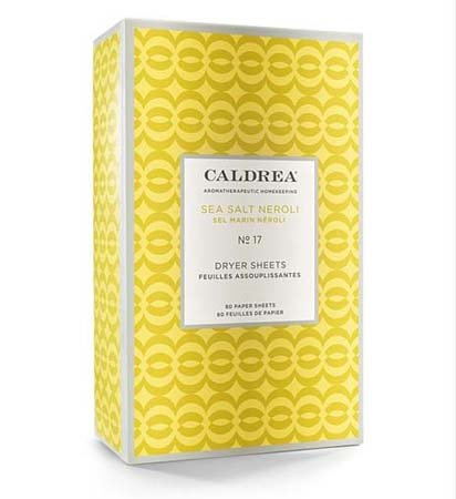 Caldrea Sea Salt Neroli Dryer Sheets