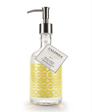 Caldrea Sea Salt Neroli Glass Refillable Hand Soap