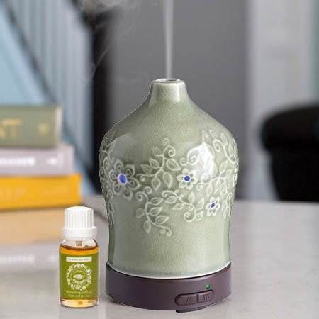 Essential Oil Diffuser by Airomé with Claire Burke Original Fragrance Oil