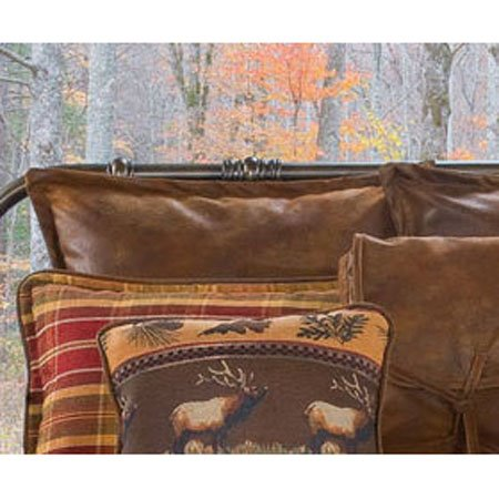 Gatlinburg Faux Leather Euro Sham