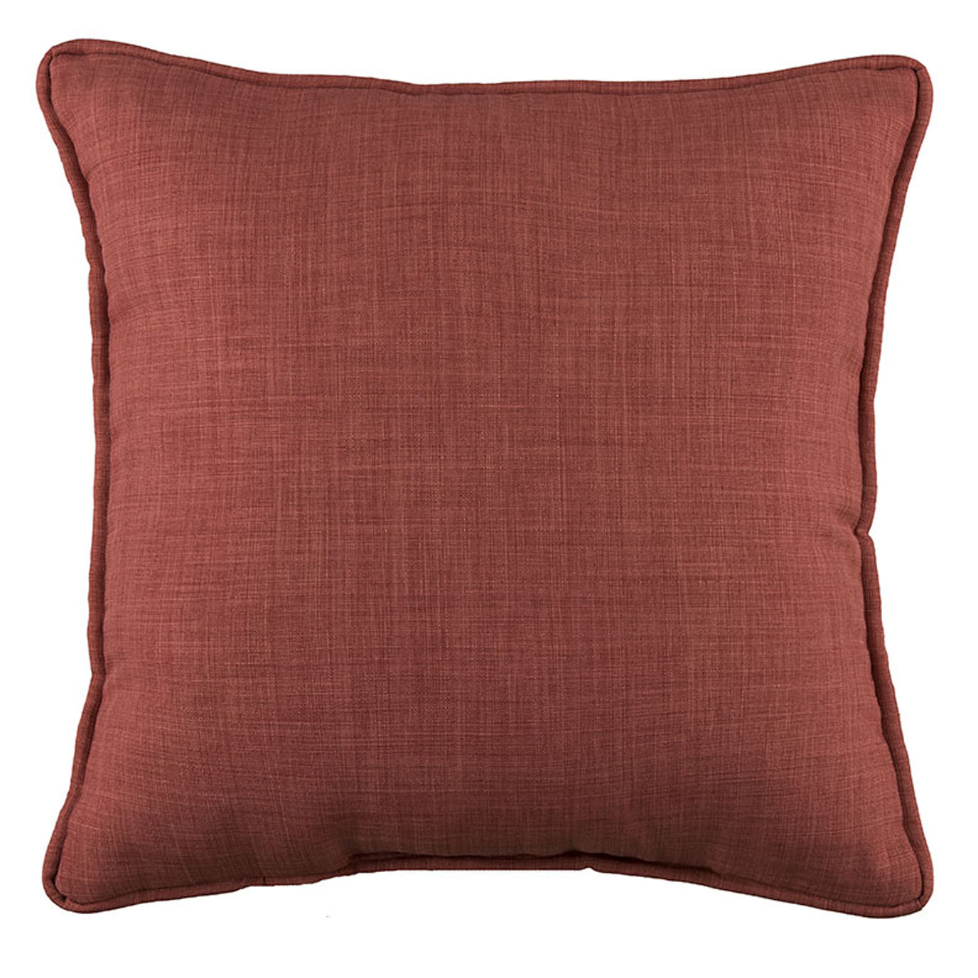 Hepworth Red Square Pillow