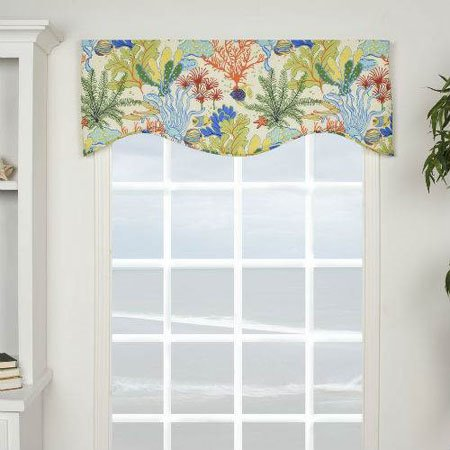 Island Breeze Shaped Valance