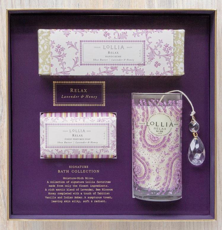 Lollia Relax Signature Bath Collection Gift Set