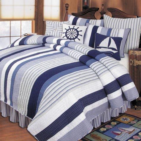 Nantucket Dream Twin Quilt