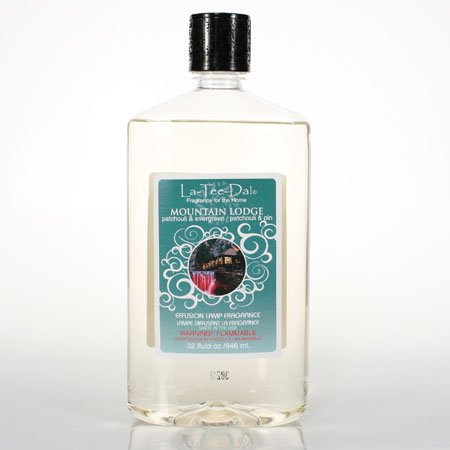 La Tee Da Fuel Fragrance Mountain Lodge - Patchouli & Evergreen (32 oz.)