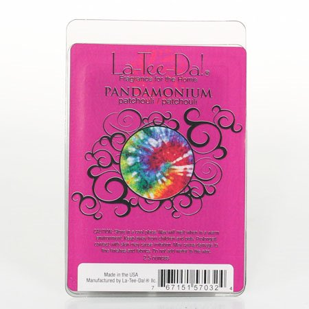 La-Tee-Da Wax Melts Pandamonium - Patchouli