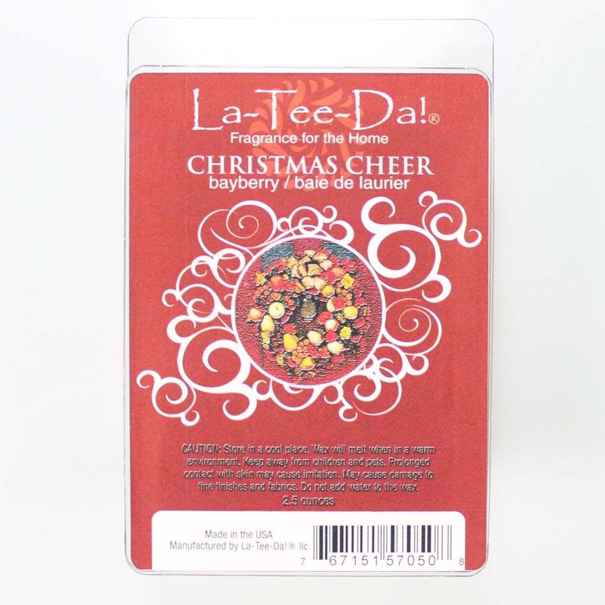 La-Tee-Da Wax Melts Christmas Cheer