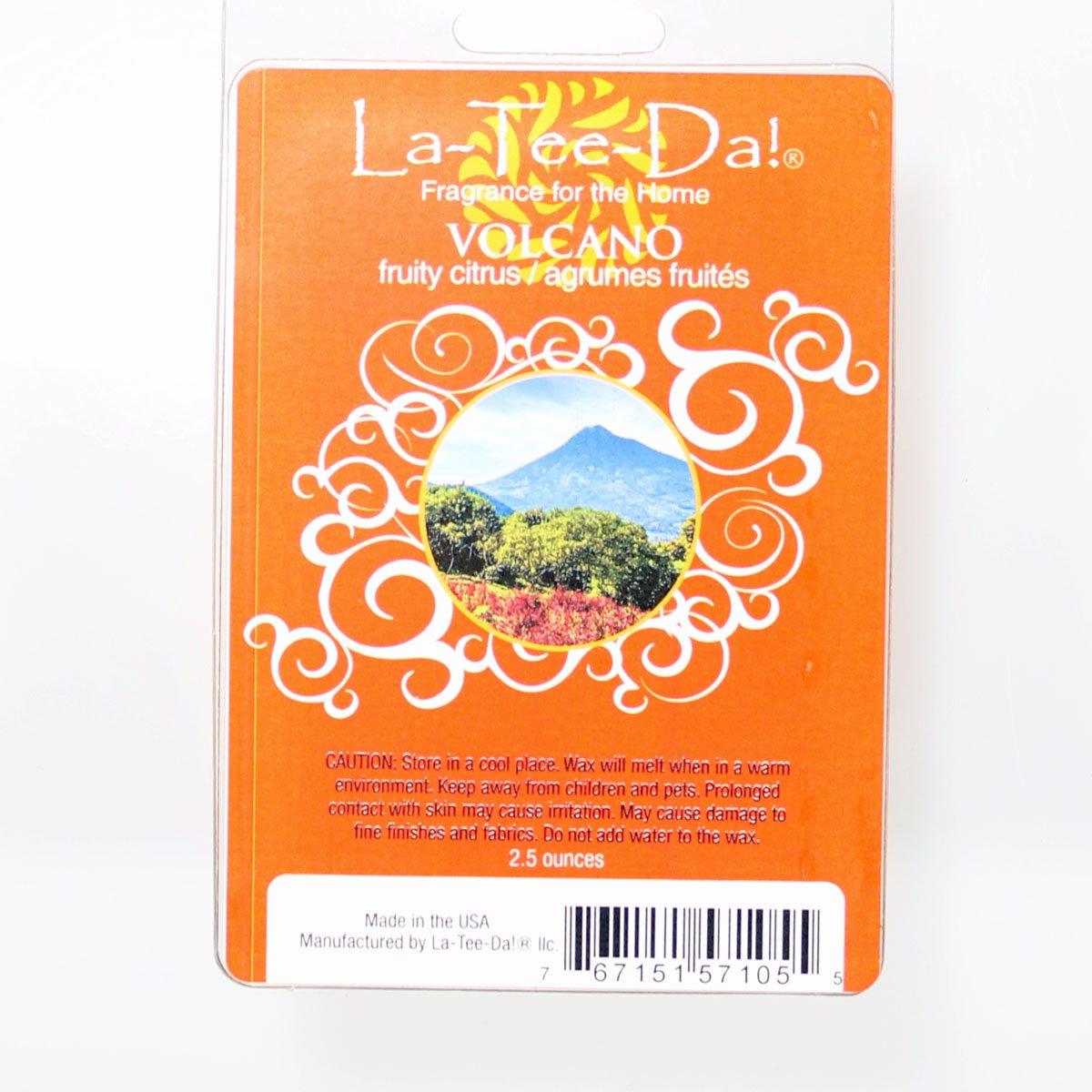 La-Tee-Da Wax Melts Volcano