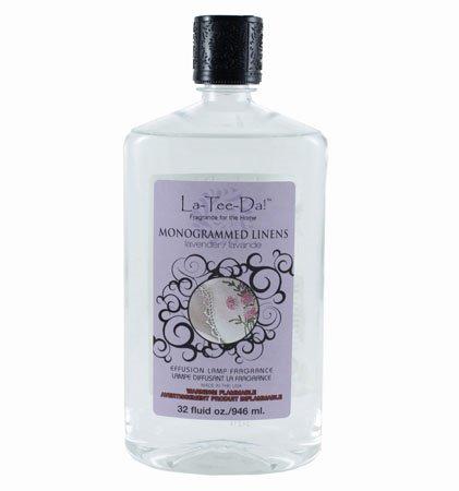 La Tee Da Fuel Fragrance Monogrammed Linens (32 oz.)