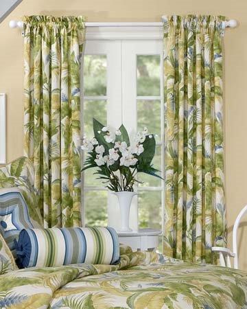 Cayman Rod Pocket Curtains