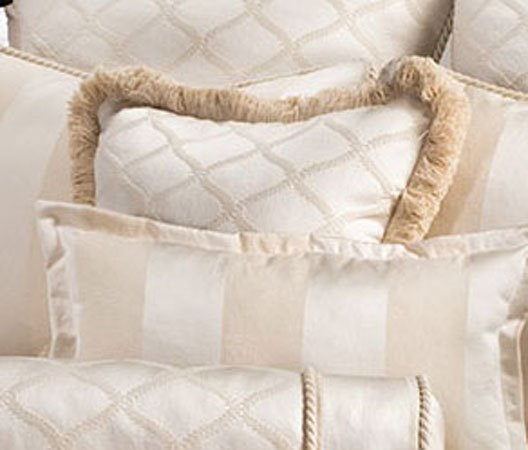 Marquis Diamond Square Accent Pillow