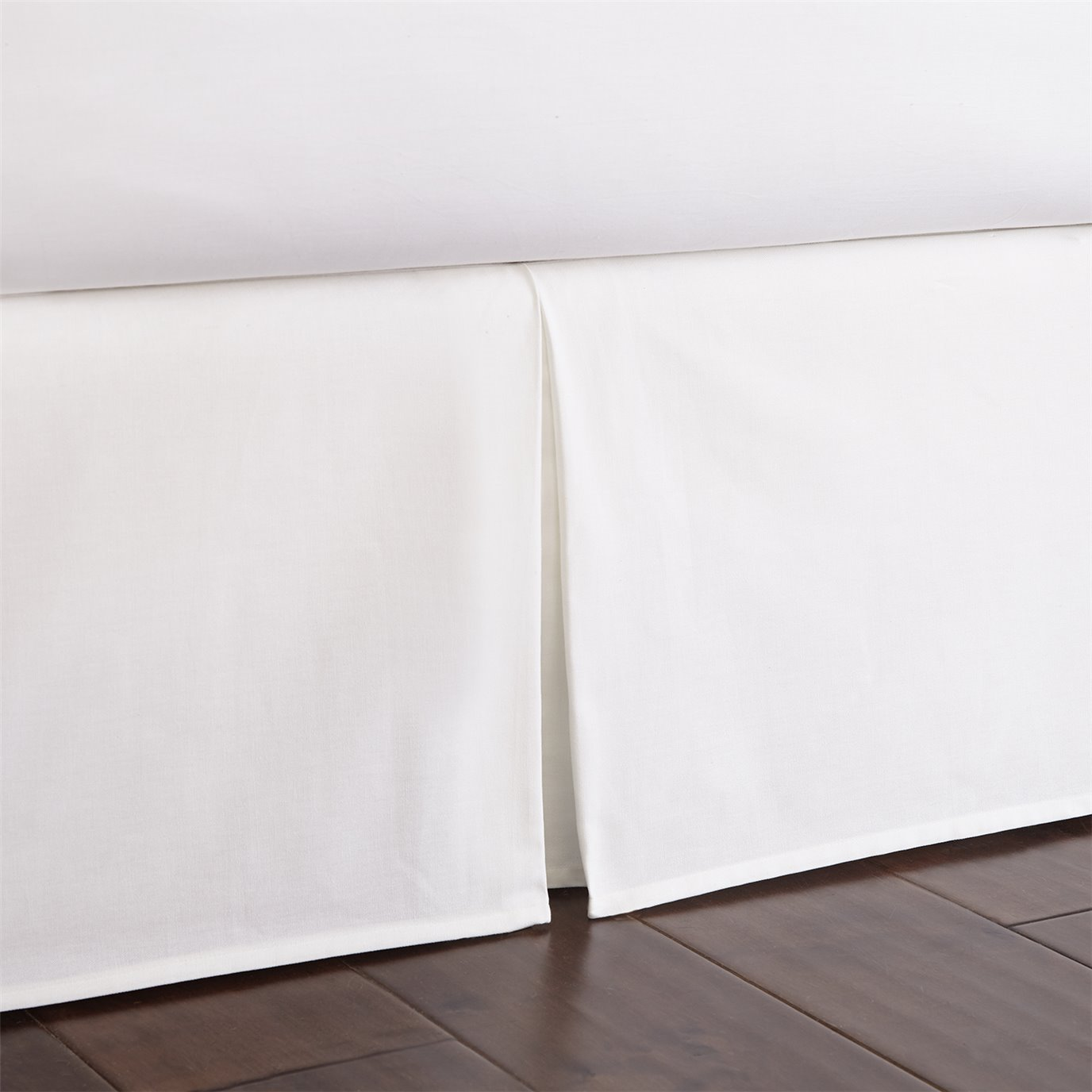 "Nautical Board Bedskirt 18"" Drop Queen"
