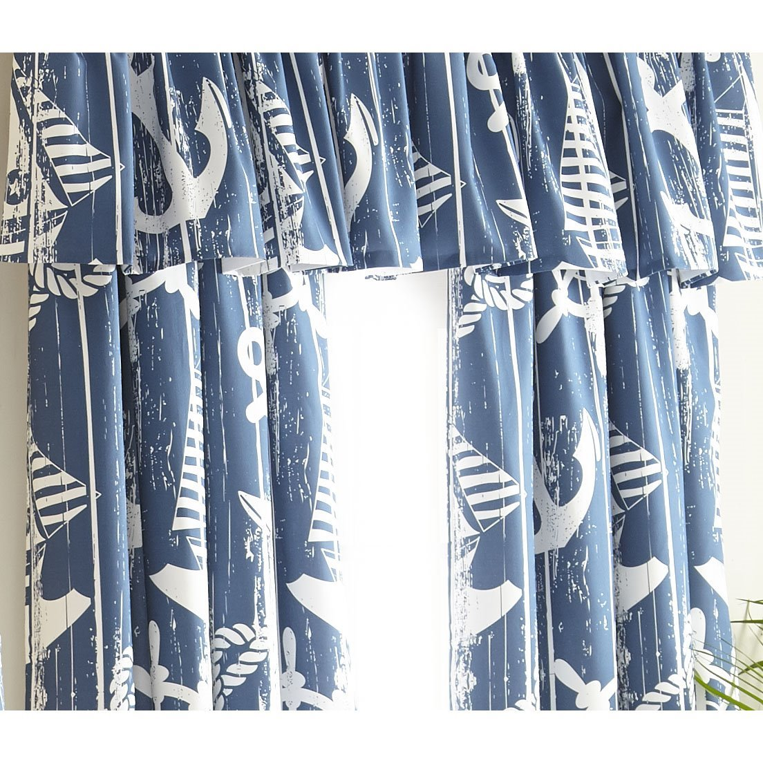 Nautical Board Drapery Panel - Each