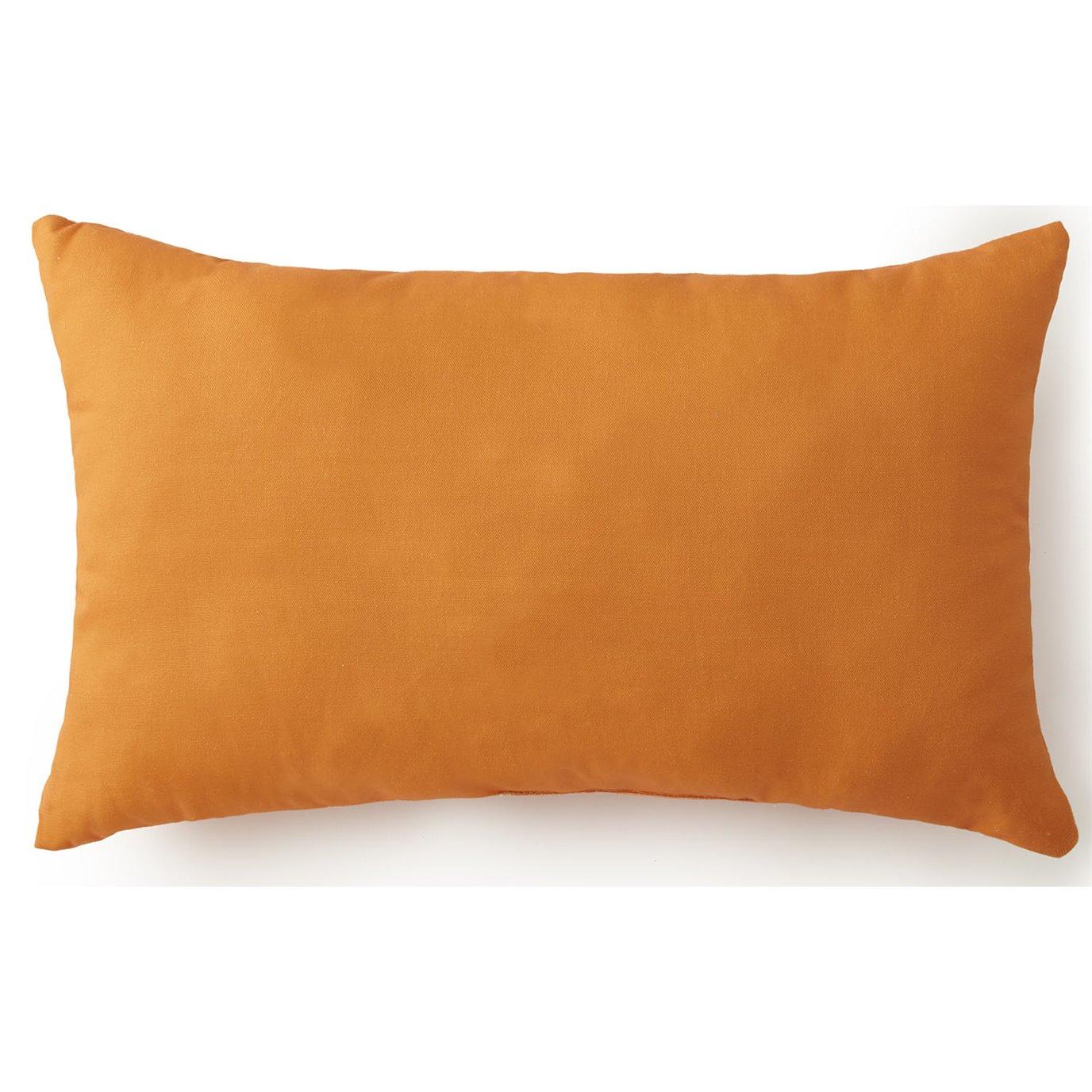Nautical Board Long Rectangle Cushion - Solid Orange