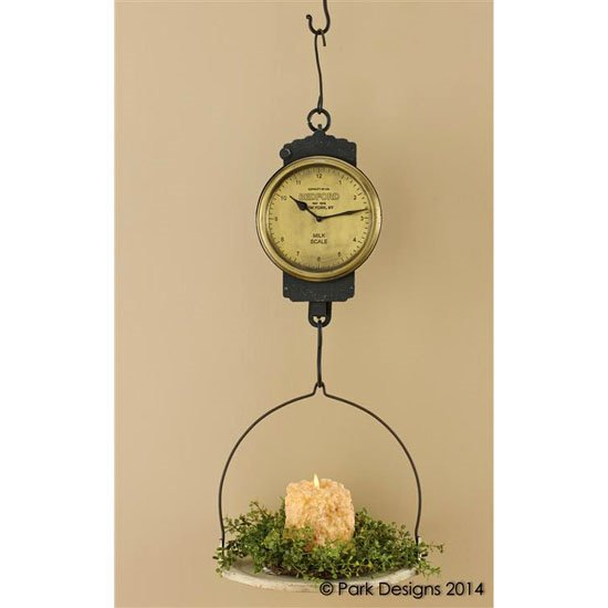 Hanging Scale Clock
