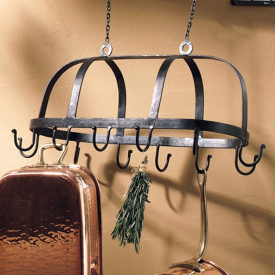 Hanging Pot Rack 25 inch