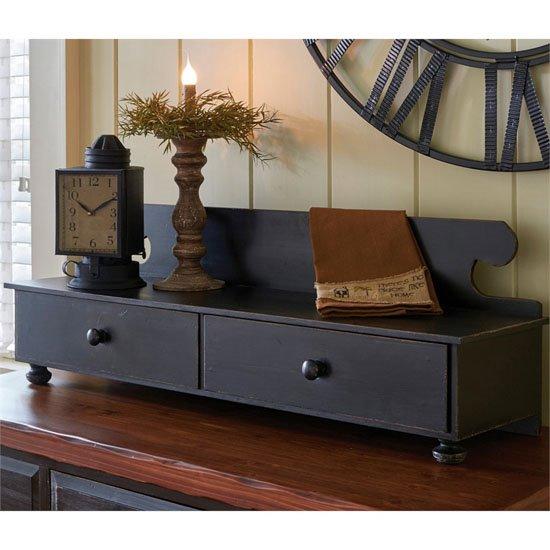 Counter Shelf Aged Black