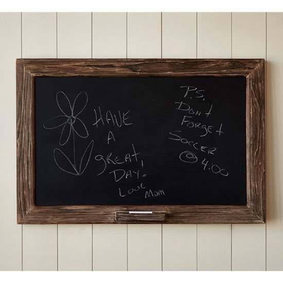 Rough Wood Chalkboard