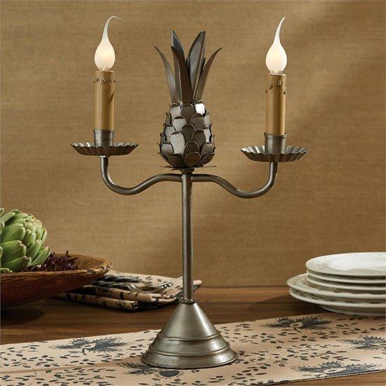 Pineapple Candelabra Lamp
