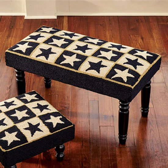 Black Star Hooked Bench