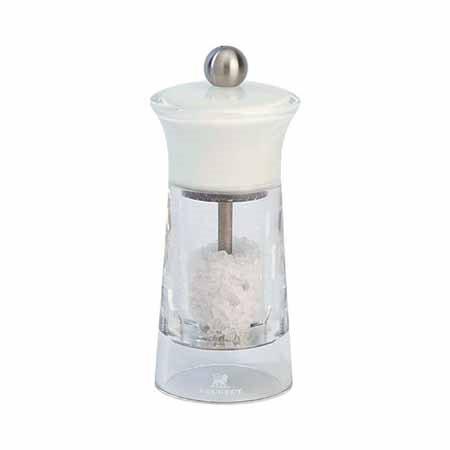 Peugeot Malaga White Salt Mill