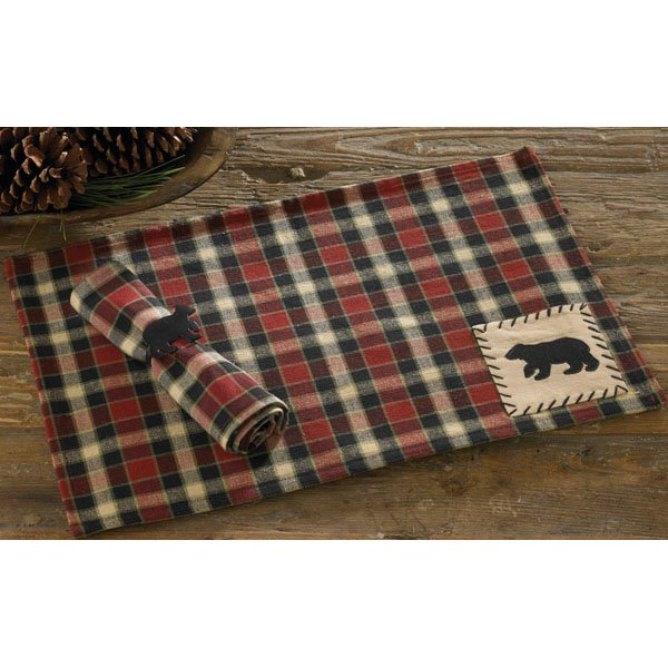 Concord Bear Patch Placemat