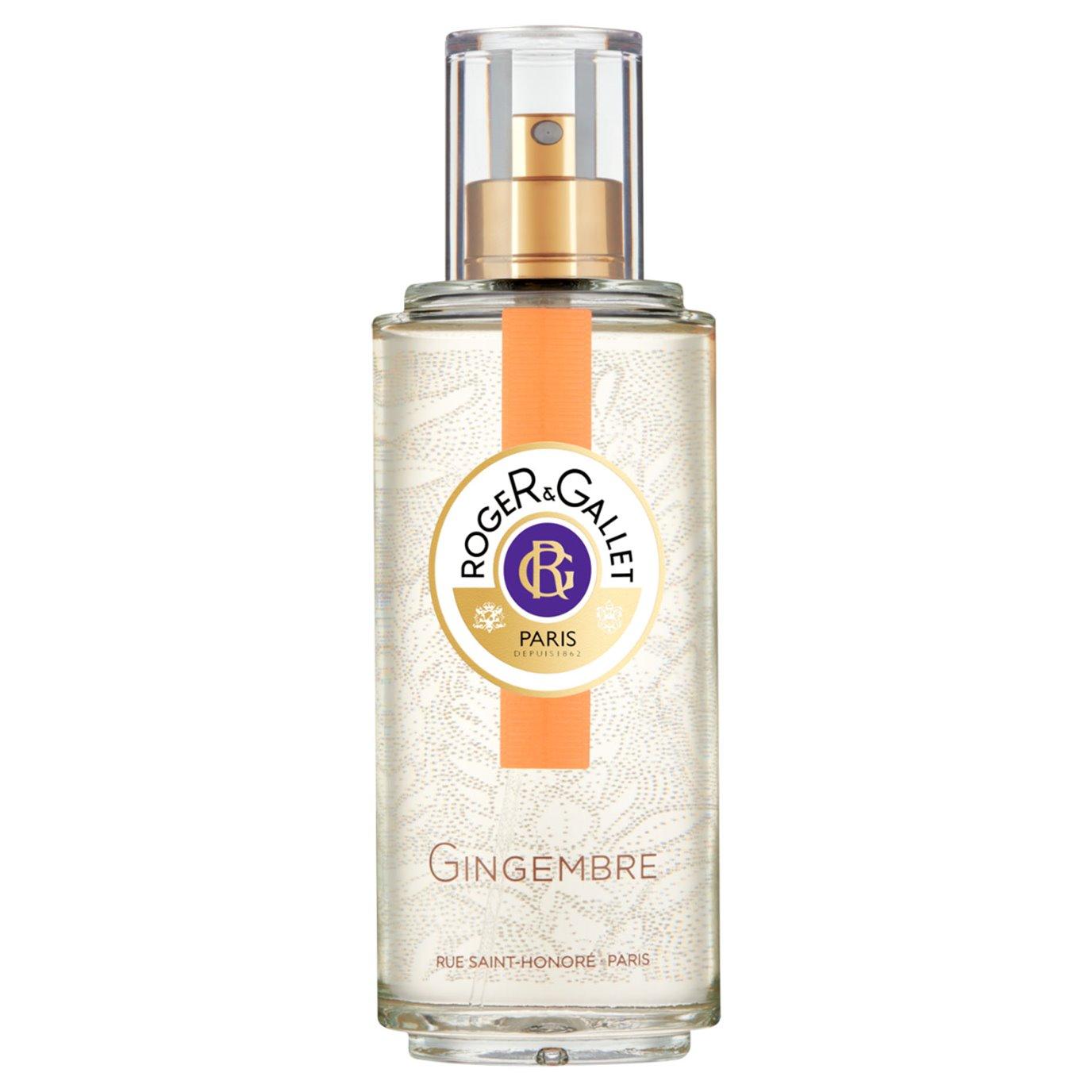 Roger & Gallet Ginger Fresh Fragrant Water Spray (3.3 oz.)